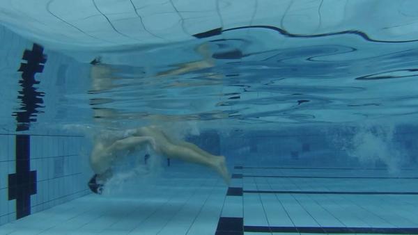 Rollwende beim Kraulschwimmen